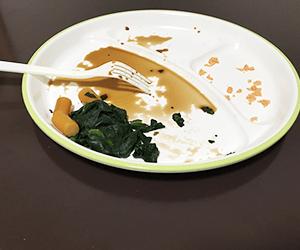 食べ残しの画像