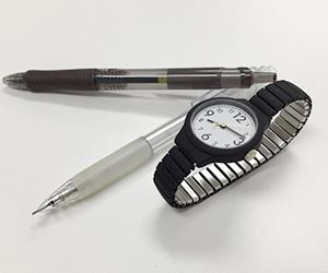 固形物(ペン・時計)の画像